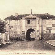 Stenay (Meuse) La porte Bourgogne CPA