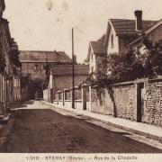 Stenay (Meuse) La rue de la citadelle CPA