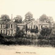 Stenay (Meuse) La villa des Lilas CPA
