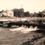Stenay (Meuse) Le barrage CPA