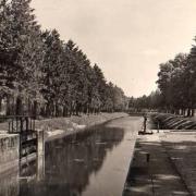 Stenay (Meuse) Le canal vers Cervisy CPA