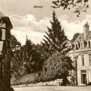 Stenay (Meuse) Le château des Tilleuls CPA