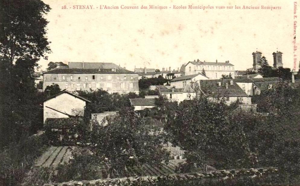 Stenay (Meuse) Le couvent des Minimes CPA