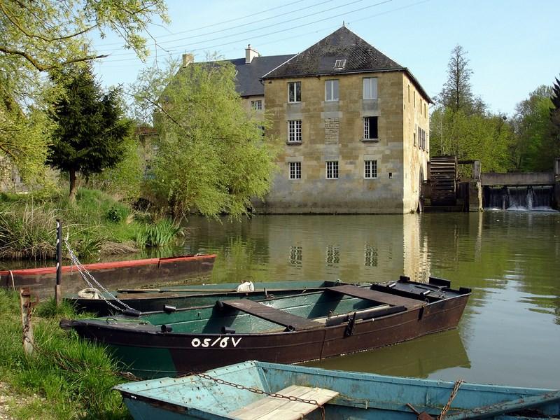 Stenay (Meuse) Le moulin