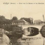 Stenay (Meuse) Le pont CPA