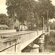 Stenay (Meuse) Le pont de La Redoute CPA