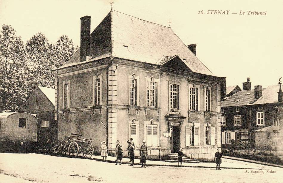 Stenay (Meuse) Le Tribunal CPA
