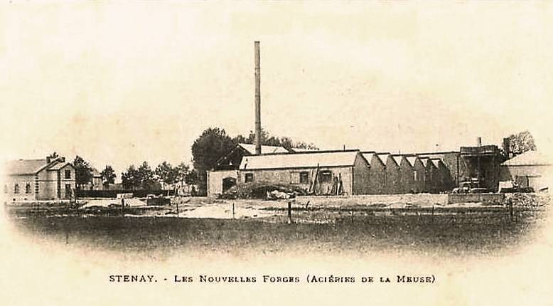 Stenay (Meuse) Les forges CPA