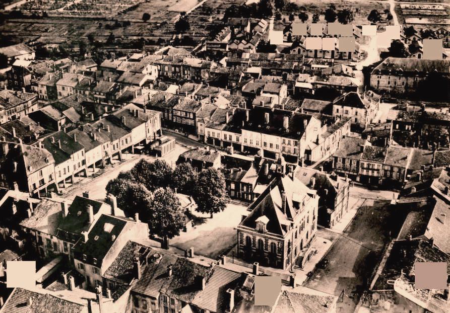 Stenay (Meuse) Vue générale CPA