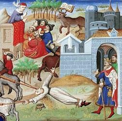 Torture et exécution de la reine Brunehaut