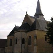 Thaumiers (18) L'église Saint-Saturnin