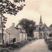 Thaumiers (18) La route de Bannegon CPA