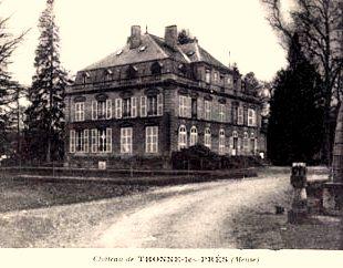 Thonne-les-Prés (Meuse) Le château CPA