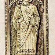 Tombeau de Charles II dit le Chauve, dessin