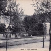 Toucy (89) L'école maternelle CPA