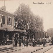 Toucy (89) La gare CPA