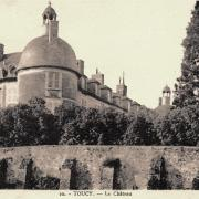 Toucy (89) Le château de la Motte-Miton CPA