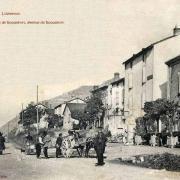 Tournemire (Aveyron) CPA L'avenue de Roquefort