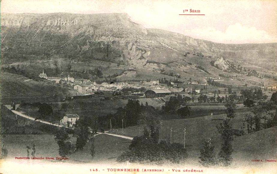 Tournemire (Aveyron) CPA Vue générale
