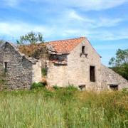 Tournemire (Aveyron) Les Arnals, la ferme