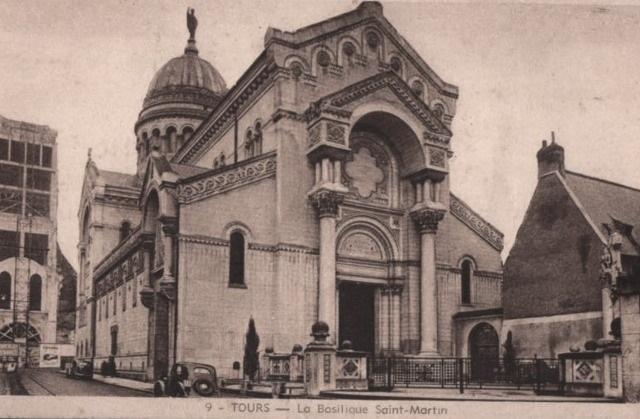 Tours (37) Basilique Saint-Martin CPA
