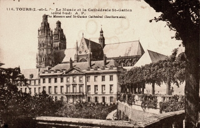 Tours (37) Cathédrale Saint-Gatien et musée CPA