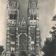 Tours (37) Cathédrale Saint-Gatien CPA