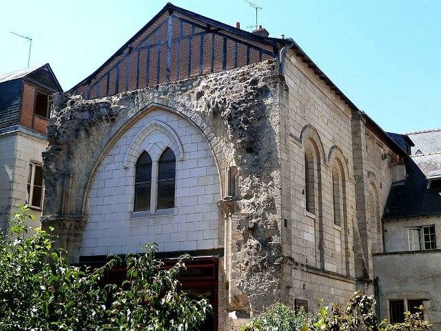 Tours (37) Eglise Saint-Pierre-le-Puellier