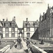 Tours (37) Hôtel de Beaune-Semblançay CPA