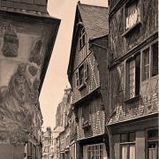 Tours (37) Vieilles maisons CPA