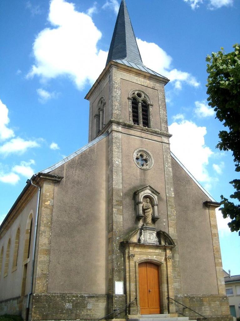 Tressange (Moselle) L'église Saint Pierre