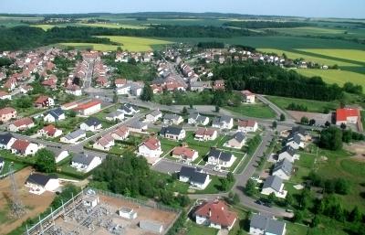 Tressange (Moselle) Vue générale