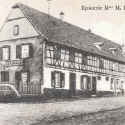 Truchtersheim 67 l epicerie cpa