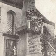 Truchtersheim 67 le monument aux morts cpa