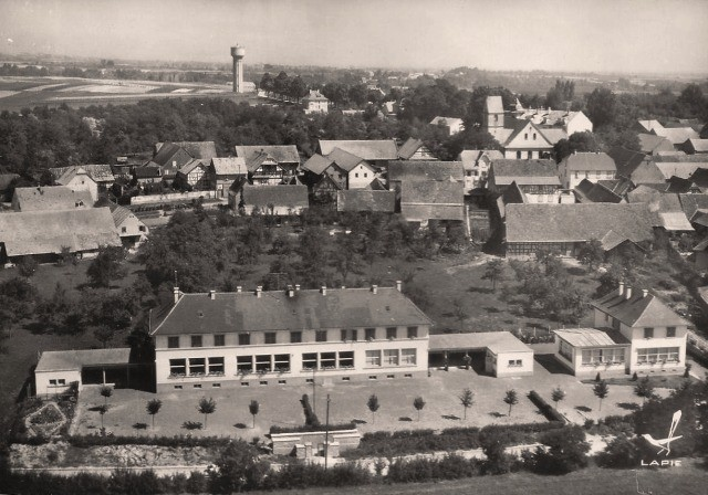 Truchtersheim 67 vue generale cpa