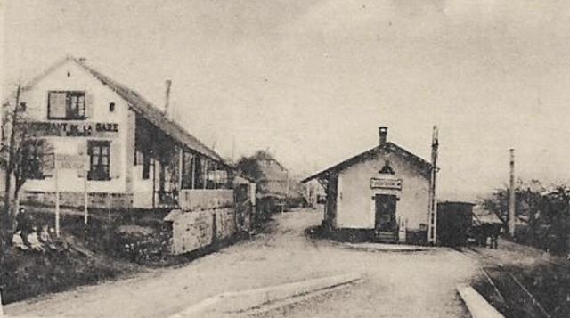 Truchtersheim 69 la gare cpa