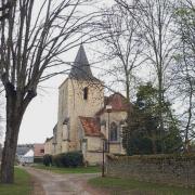 Urzy (Nièvre) L'église Saint Denis