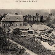 Urzy (Nièvre) Le Greux, le moulin CPA