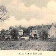 Urzy (Nièvre) Le pont Saint Ours CPA