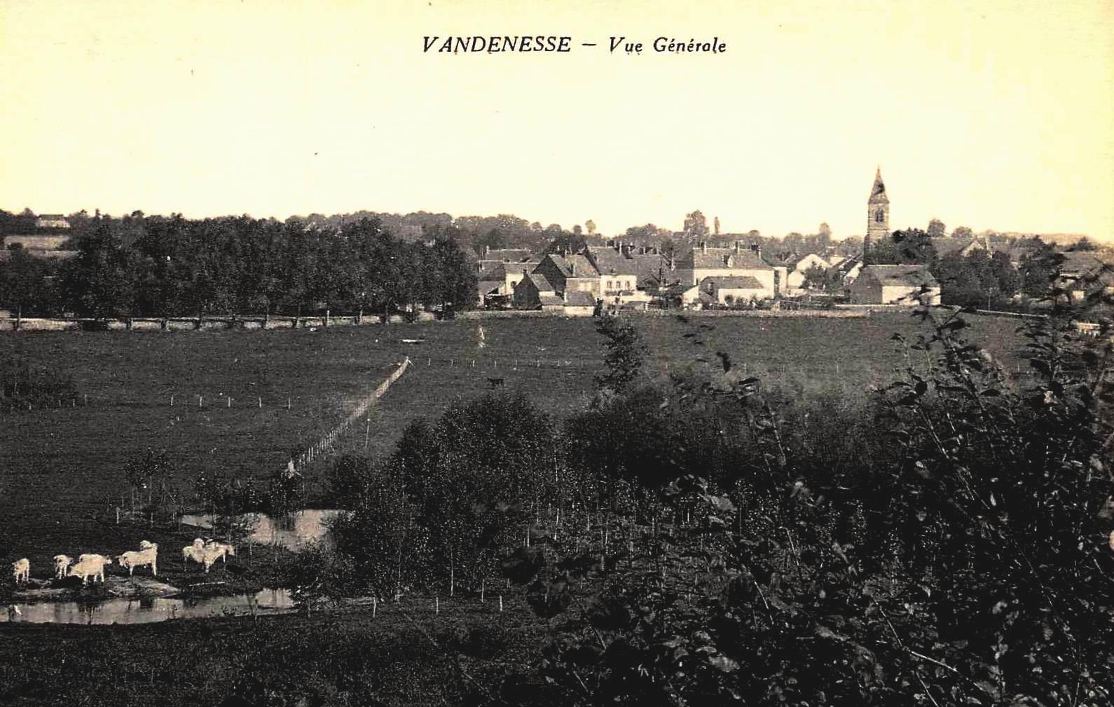 Vandenesse (Nièvre) Vue générale CPA