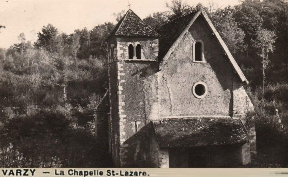 Varzy (Nièvre) La chapelle Saint Lazare CPA