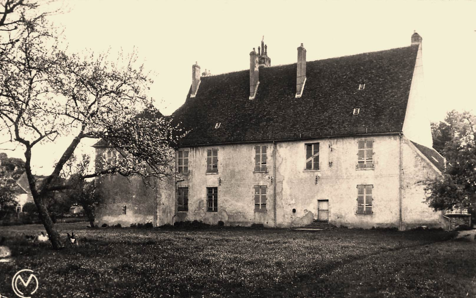 Varzy (Nièvre) Le vieux château CPA