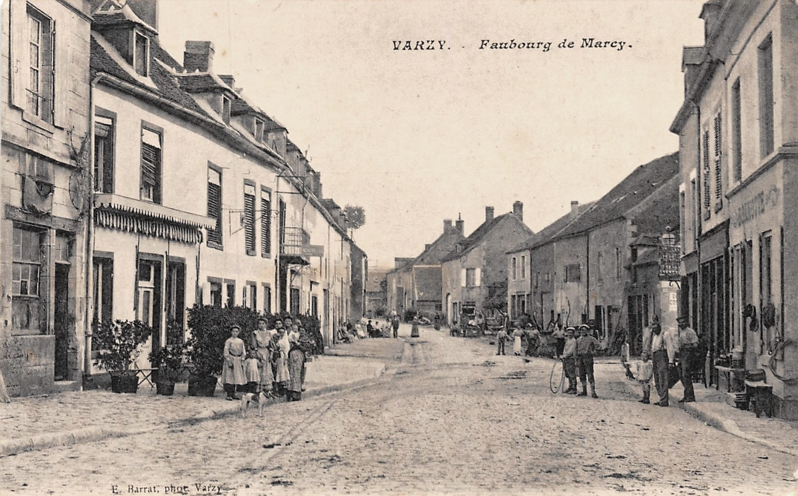 Varzy (Nièvre) Marcy CPA