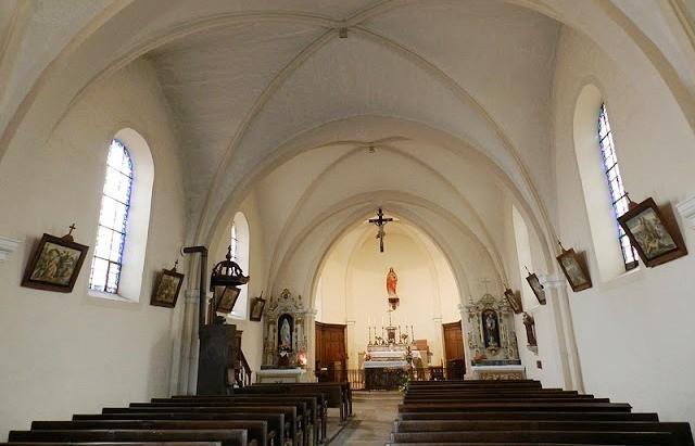 Vaudemont 54 l eglise saint gengoult interieur