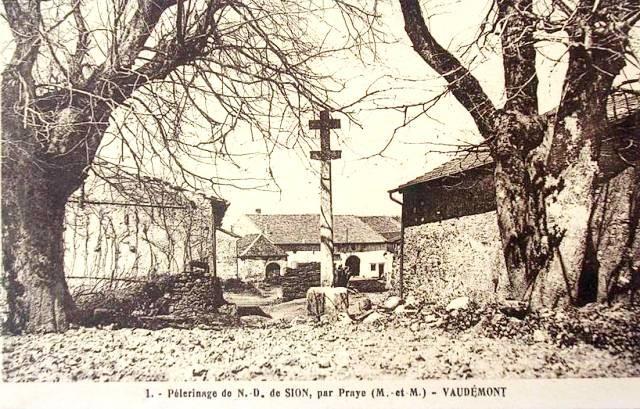 Vaudemont 54 la croix cpa