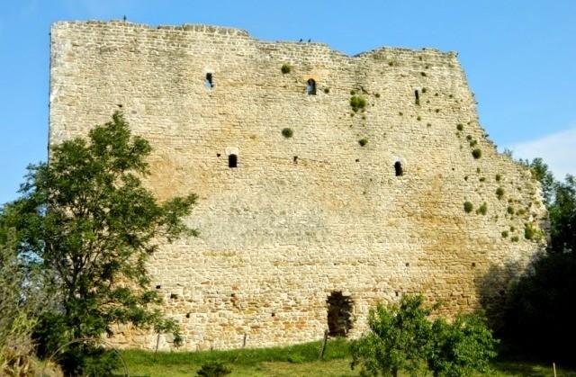 Vaudemont 54 le chateau vestiges de la tour brunehaut