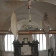 Vendières (Aisne) Eglise St Jean Baptiste intérieur