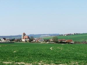 Vendières (Aisne) Vue générale