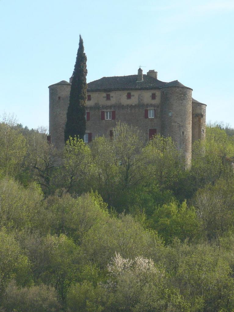 Versols-et-Lapeyre (Aveyron) Le château de Montalègre