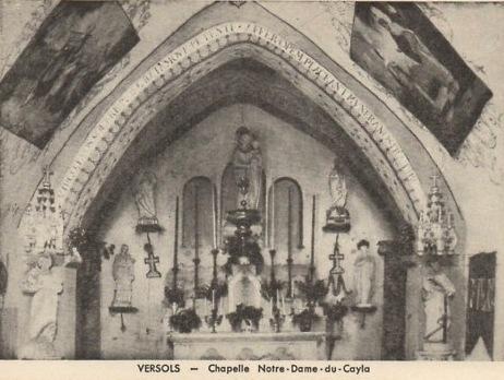 Versols-et-Lapeyre (Aveyron) CPA Versols, N.-D. du Cayla